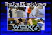 WCIX Channel 6 News, The 10PM News - The Team - Weeknights promo - 1984