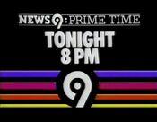 WOR News 9, Prime Time - Tonight promo - Fall 1985