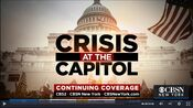 WCBS CBS2 News & CBSN New York - Crisis At The Capitol - Continuing Coverage promo for Early-Mid January 2021