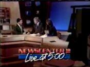 KJRH Newscenter 2 Live At 5PM open - October 21, 1986