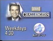 KDFW Channel 4 - The Challengers - Weekdays promo - Fall 1990