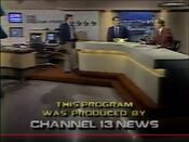 WVTM Channel 13 News Tonight Weekend close - June 14, 1986
