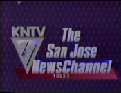 KNTV 11 - The San Jose Newschannel ident with Copyright Tag - 1993