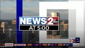 WKRN News 2 5PM open - Late Fall 2020