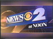 WCBS News 2 12PM open - Mid-Spring 2000