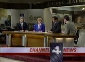 KDFW Channel 4 News, The 10PM Report open - December 30, 1988