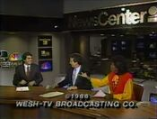 WESH Newscenter 2 11PM close - November 24, 1986