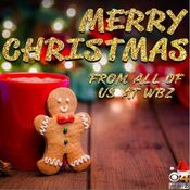 WBZ Channel 4 - Merry Christmas ident - Late December 2019