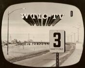 WTIC-TV's Channel 3 Video ID From The Mid 1960's