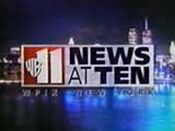 WPIX-TV's The WB 11 News At 10 Video Open From 1999