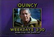 KCBS Channel 2 - Quincy - Weekdays ident - Fall 1984