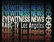 KABC Channel 7 Eyewitness News ident - Fall 1972