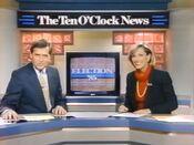 WCIX News, The 10PM News - Election Coverage promo for November 10, 1985 & November 12, 1985