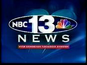 WVTM NBC 13 News open - 1999