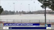 KLAS 8 News Now Live At 11PM open - January 25, 2021