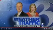 WFSB Channel 3 Eyewitness News This Morning 4AM - Weather And Traffic - Tomorrow Starting promo - Late January 2015