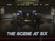 WSMV Channel 4 News, The Scene At 6PM open - September 9, 1985