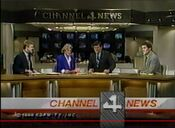 KDFW Channel 4 News, The 10PM Report close - December 30, 1988