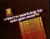 KTEW Newscenter 2 - We're Working To Win You Over ident from 1976
