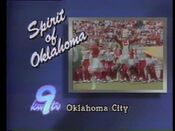 KWTV TV9 - Spirit Of Oklahoma ident - Early 1985