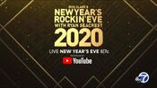 ABC Network - Dick Clark's New Year's Rockin Eve With Ryan Seacrest 2020 - Live New Year's Eve promo with KGO-TV id bug for December 31, 2019