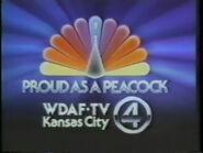 WDAF logo 1980