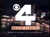 WFOR Channel 4 ident - Mid-September 1995