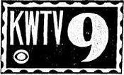 KWTV Channel 9 - A CBS Station logo - 1960