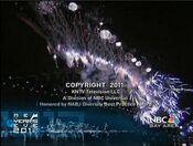KNTV NBC Bay Area News 11PM Weekend close - December 31, 2011