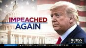 WCBS CBS2 News - Impeached Again open - Mid-Late January 2021