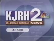 KJRH Channel 2 News 5PM open - 1997