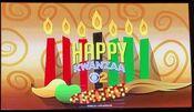 KCBS CBS2 - Happy Kwanzaa ident - December 26, 2020