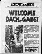 WNBC Newscenter 4 - Welcome Back, Gabe! - Tonight promo for July 14, 1980