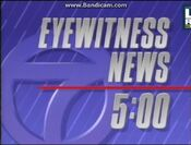 KABC Channel 7 Eyewitness News 5PM open - 1992