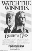 KABC Channel 7 Eyewitness News - Election Night Coverage - Beginning Tonight promo for November 6, 1984