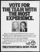 WABC Channel 7 Eyewitness News - The '84 Vote, Election Night Coverage - Tonight promo for November 6, 1984