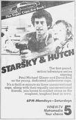 WNEW Channel 5 - Starsky And Hutch - Mondays-Saturdays promo - Fall 1980