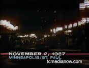 WCCO News, The 10PM Report open - November 2, 1987
