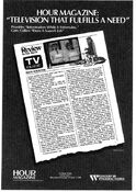WNYW Fox Channel 5 - Hour Magazine - TV Guide Reviews - Weekdays promo - Mid-Fall 1986