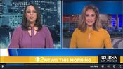 KCBS CBS2 News This Morning 5AM open - January 14, 2021