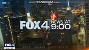 KDFW Fox 4 News 9PM open - The Week Of January 28, 2020