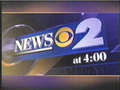 WCBS News 2 4PM open - Mid-Spring 2000