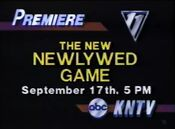 KNTV-TV's The All-New NewlyWed Game Video Promo For Tuesday Evening, September 17, 1985