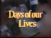 Days Of Our Lives close - March 22, 2000