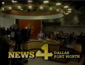 KDFW News 4 Dallas-Fort Worth 10PM open - November 3, 1983