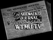 WTMJ-TV's The Milwaukee Journal Television Station Video ID From Late 1947