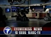 KABC Channel 7 Eyewitness News 5PM close - October 16, 1996