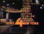 WNBC News 4 New York 11PM open - November 10, 1986