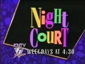 KNTV 11 - Night Court - Weekdays promo - Late 1992