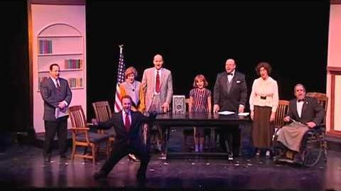 """Highland Park Players """"Annie"""" Tomorrow (cabinet reprise)-1"""